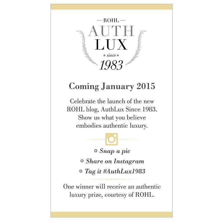 AuthLux since 1983 Instagram
