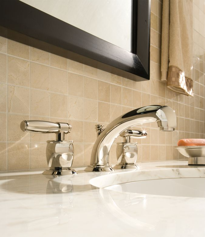ROHL Michael Berman 3-Hole Widespread Zephyr Spout Lavatory Faucet