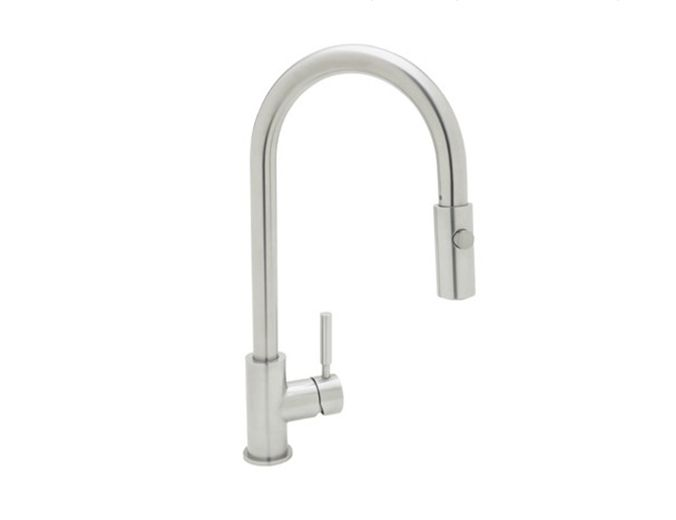 ROHL Modern Architectural Side Lever Pull-Down Kitchen Faucet_LS59L-2