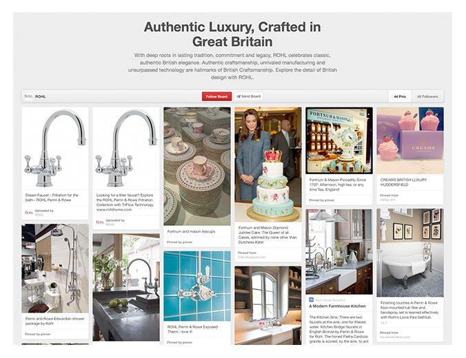 ROHL Birtish Luxury on Pinterest
