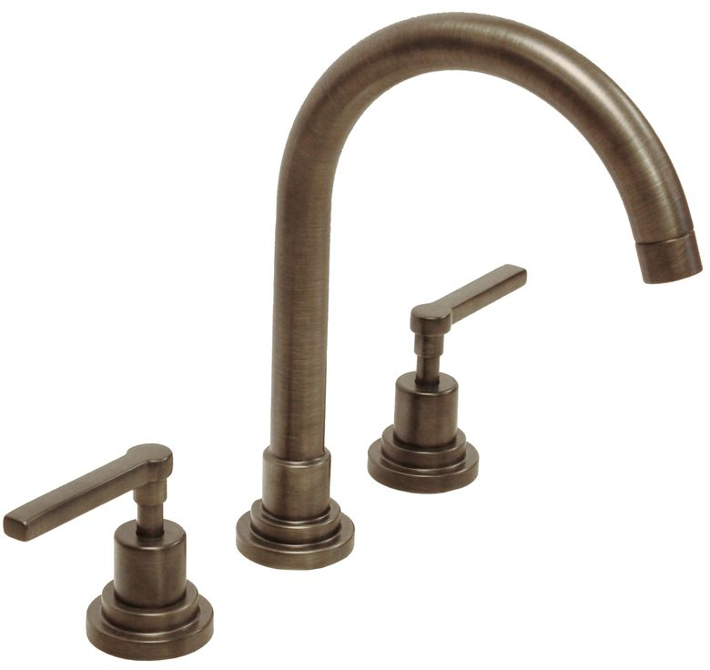 ROHL Lombardia C-Spout Widespread Lavatory Faucet