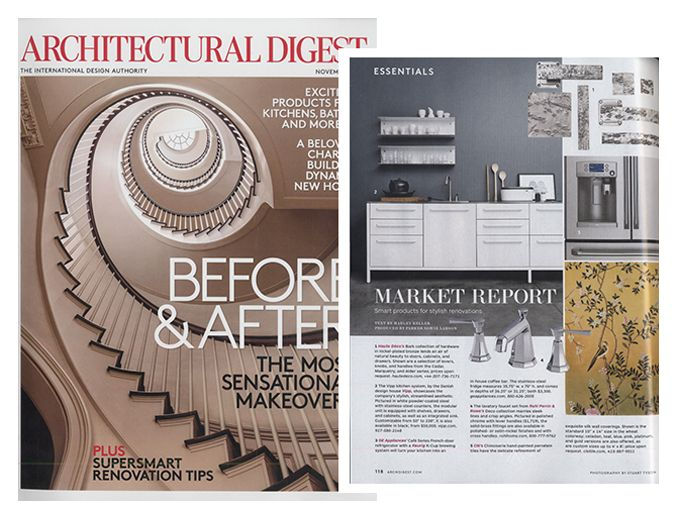Deco featured in AD