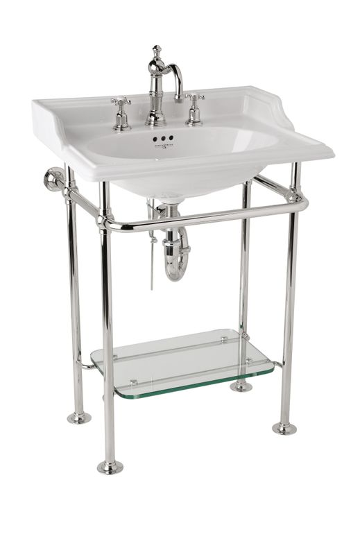 ROHL Perrin & Rowe Victorian 25 inch Basin with Wash Stand