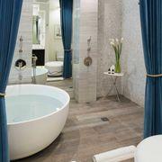 Fairmont Miramar Bungalow One - Master Bath_wideshot
