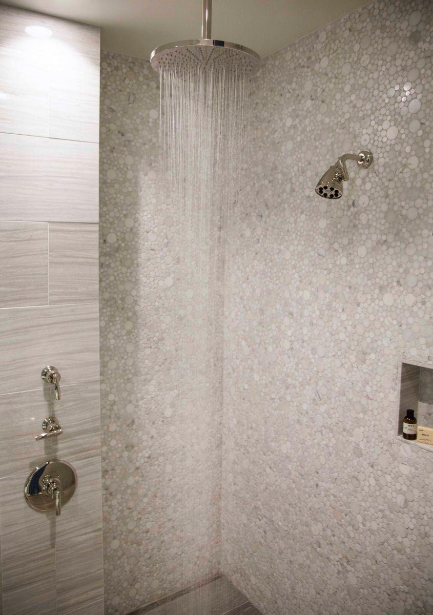 Fairmont Miramar Bungalow One - Master Bath_Rainshower_Wide shot