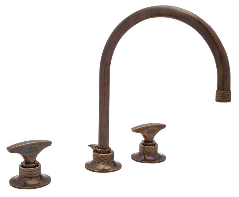 Michael Berman Graceleine C-Spout Widespread Lavatory Faucet