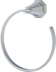 Perrin & Rowe Deco Towel Ring