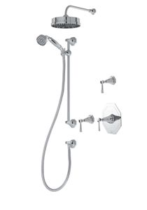 Perrin & Rowe Deco Therm Shower Package