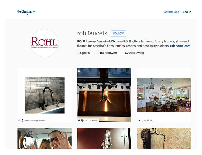 ROHL Instagram