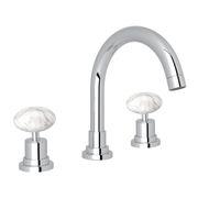 ROHL Lombardia Faucet with Cristallo di Rocca Handles_A2228PCCRAPC