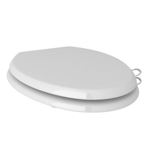 ROHL Easy Close Toilet Seat with Sanitary Handles_RS2872KIT1APC
