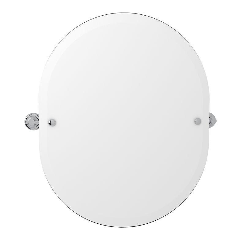 ROHL Perrin & Rowe Holborn Oval Wall Mirror_U6482APC