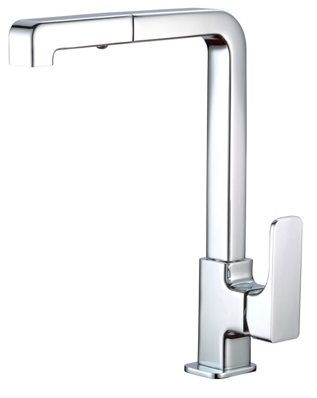 ROHL Modern Quartile Pull-Out Kitchen Faucet_CU57L