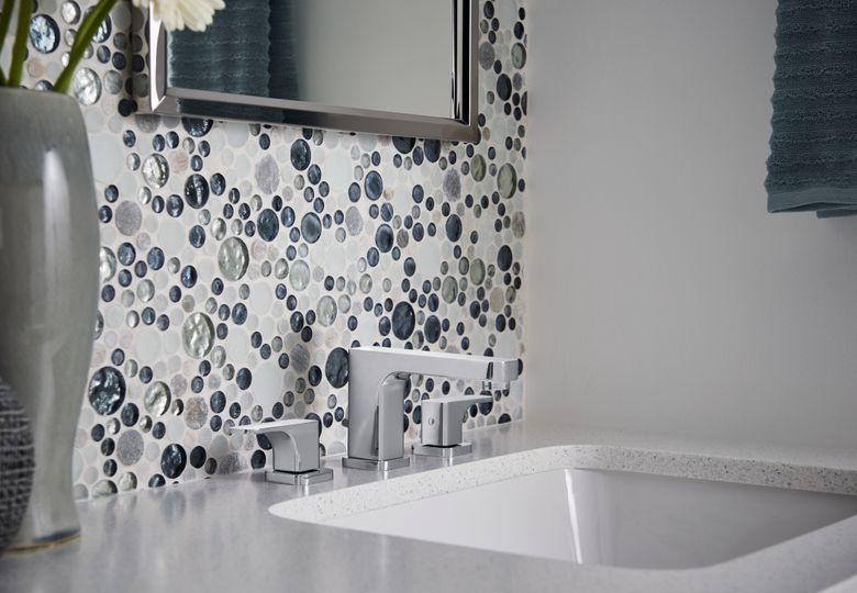 ROHL Quartile Deck Mount Widespread Lavatory Faucet