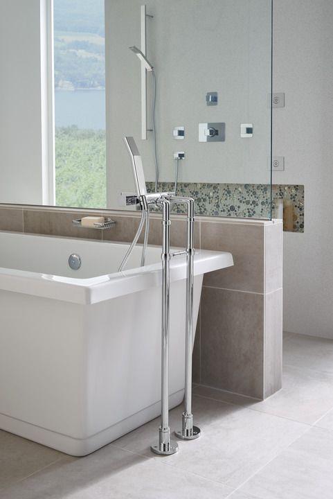 ROHL Quartile Tub Filler