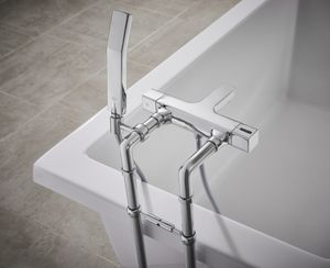 A Modern Tub Experience with ROHL Quartile