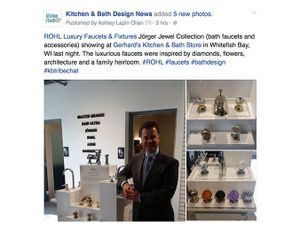 ROHL Hosts Jörger Jewel Collection Trunk Show
