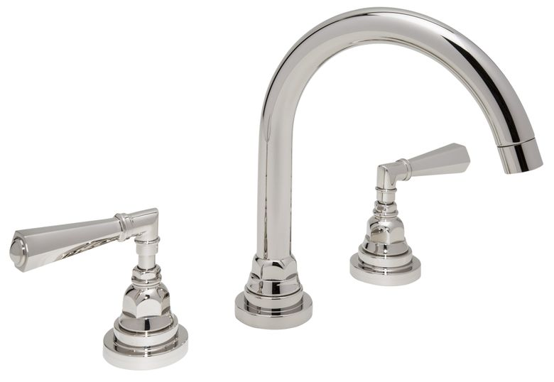 Italian San Giovanni Widespread Lavatory Faucet