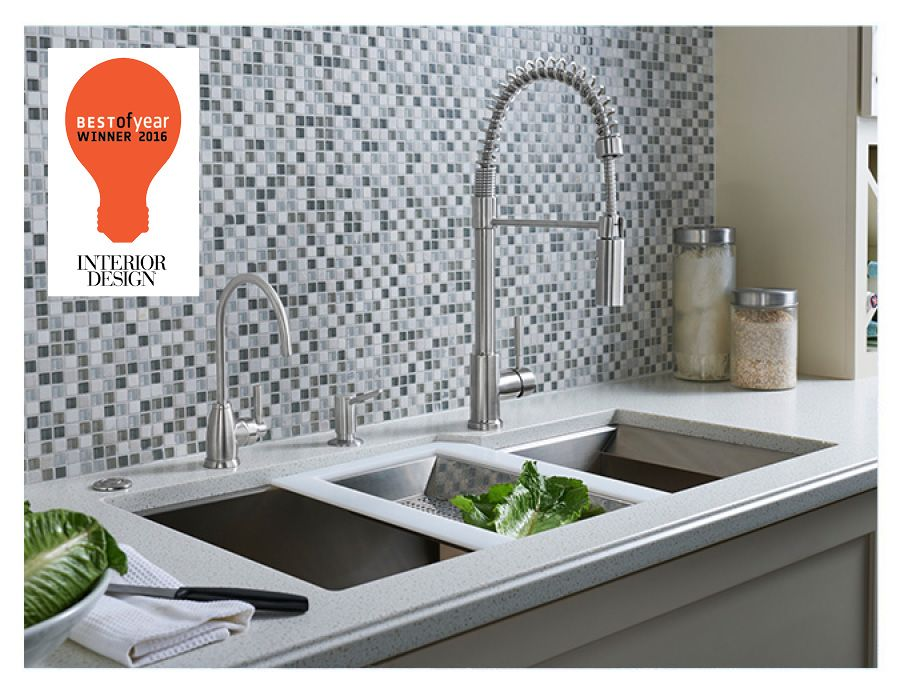ROHL RGK Stainless Steel Kitchen Sink_2016 Interior Design BOY Award