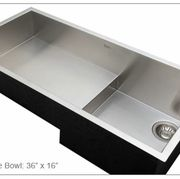 ROHL Culinario Stainless Steel Sink_Single Bowl