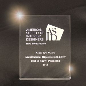"ROHL Wins ""Best in Show"" Award at Architectural Digest Design Show"