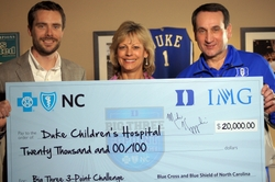 BCBSNC Big 3 3 Point Challenge check presentation