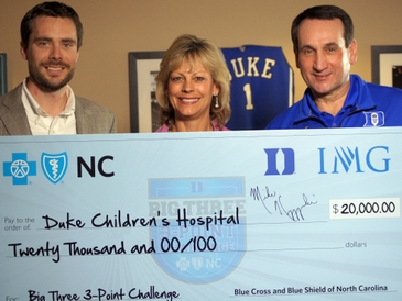 North Carolina Charities Clutch Win in BCBSNC's Big 3 3-Point Challenge