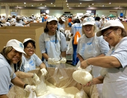 BCBSNC Employees Volunteer at Sort-A-Rama in Raleigh