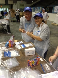 BCBSNC Employees Volunteer at Sort-A-Rama in Winston-Salem