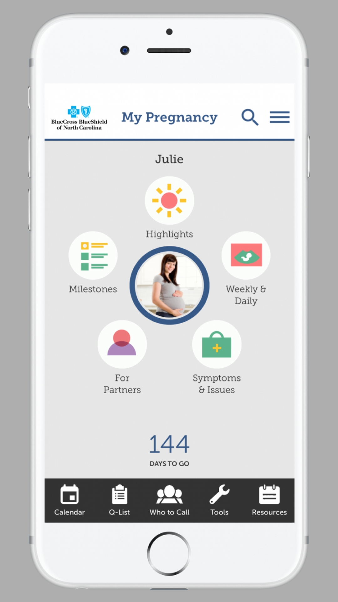 "BLUE CROSS NC LAUNCHES ""MY PREGNANCY"" APP 