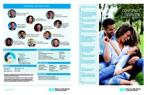 Blue Cross NC 2018 Corporate Fact Sheet_final