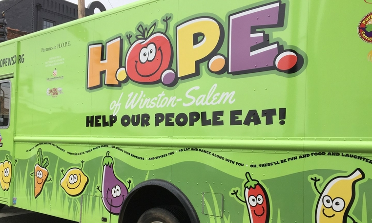 Blue Cross NC and H.O.P.E. of Winston-Salem to Provide Over 20,000 Meals for Forsyth County Children