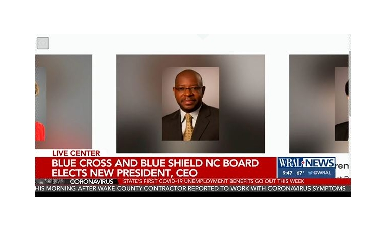 Dr. Tunde Sotunde Announced as New President and CEO of Blue Cross and Blue Shield of North Carolina