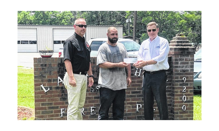 Area fire departments receive state grants
