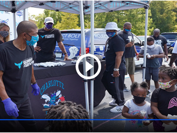 Hornets, Blue Cross NC Partner To Support Project BOLT With Weekly Meal Donations