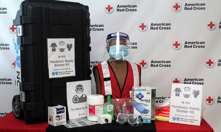 Blue Cross NC Invests $400,000 in American Red Cross Programs to Help Prepare North Carolinians for Home Fires and Other Disasters