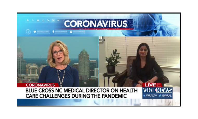Blue Cross exec says expanded telehealth options allows people to stay safe and healthy during pandemic