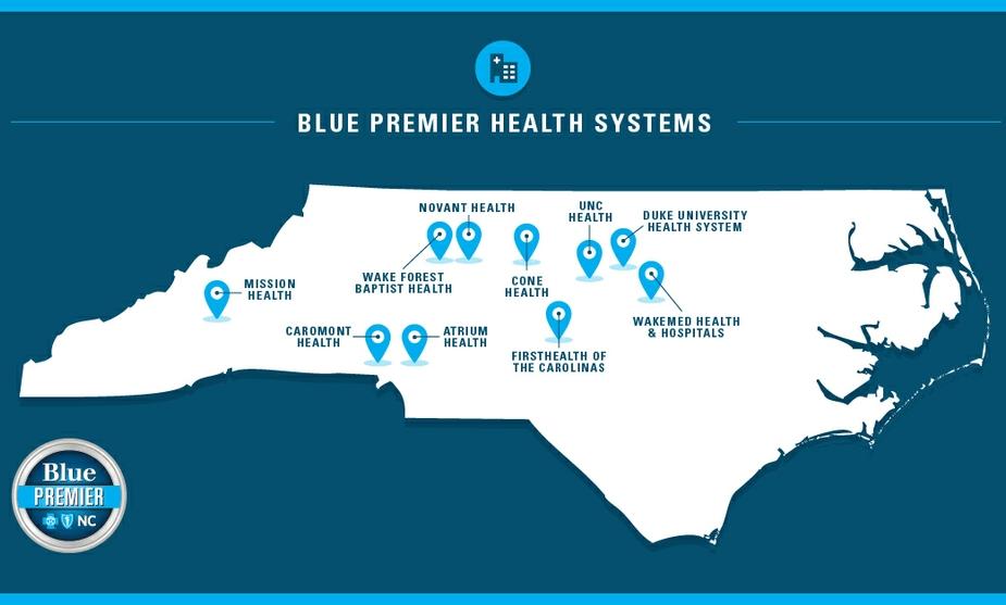 Blue Cross NC_Blue Premier Health Systems Map_Final