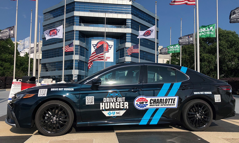 Charlotte Motor Speedway and Blue Cross NC Work Together to Drive Out Childhood Hunger in Greater Charlotte Area