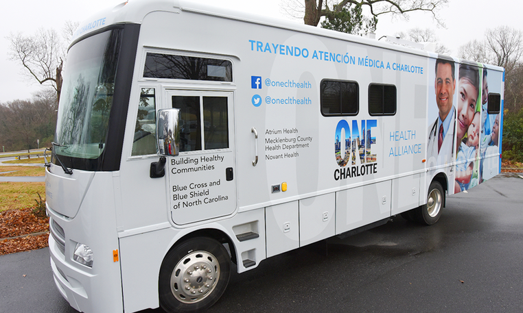 ONE Charlotte Health Alliance to Provide COVID-19 Vaccines Through Mobile Health Units