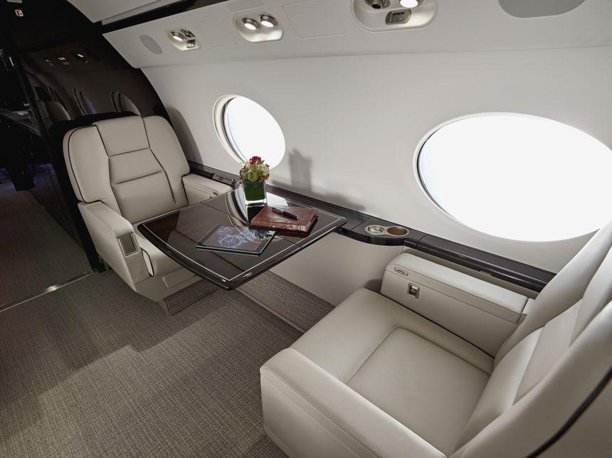 Gulfstream G550 Interior 2