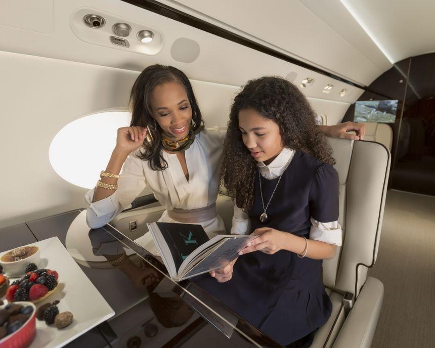 Gulfstream G550 Interior 9