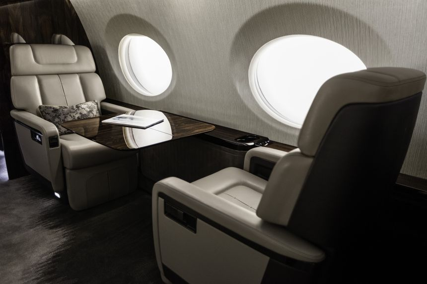 Gulfstream G600 Mock-Up 2015 5