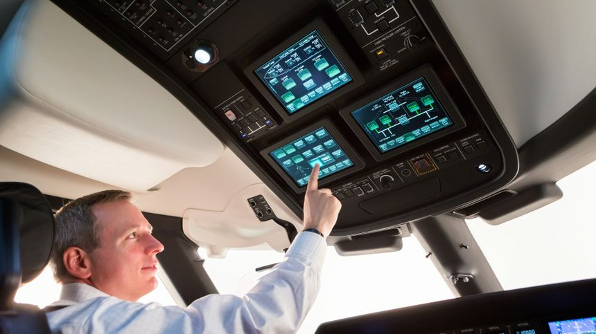 Gulfstream G600 Symmetry Flight Deck 1