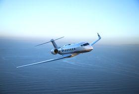 Gulfstream G650ER Aerial 2