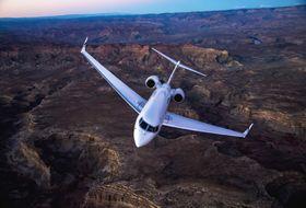 Gulfstream G650ER Aerial 6