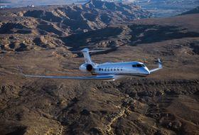 Gulfstream G650ER Aerial 7