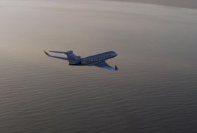 Gulfstream G650ER Aerial Media Loop