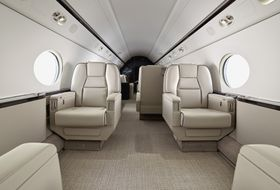 Gulfstream G550 Interior 1