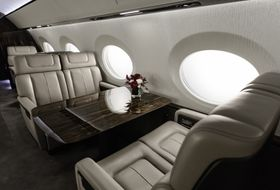 Gulfstream G600 Mock-Up 2015 2